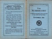 The Numismatist, November 1936