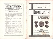 The Numismatist, March 1937