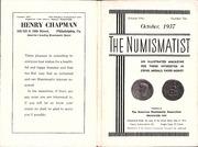 The Numismatist, October 1937