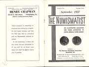 The Numismatist, September 1937