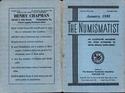 The Numismatist, January 1938