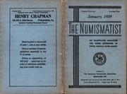 The Numismatist, January 1939