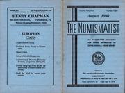 The Numismatist, August 1940