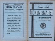 The Numismatist, February 1940