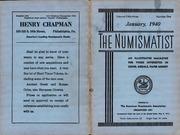 The Numismatist, January 1940
