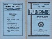 The Numismatist, July 1940