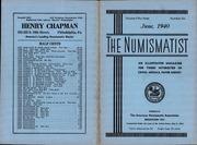 The Numismatist, June 1940