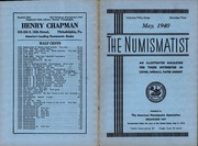 The Numismatist, May 1940