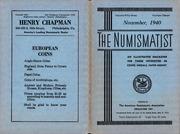 The Numismatist, November 1940