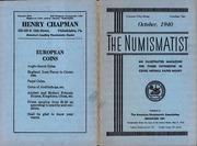 The Numismatist, October 1940