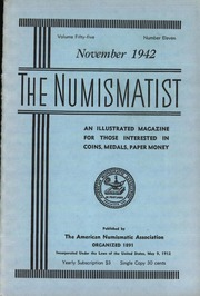 The Numismatist, November 1942