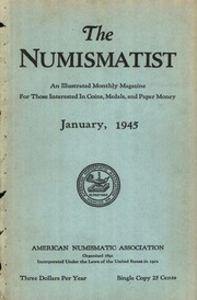 The Numismatist,  1945