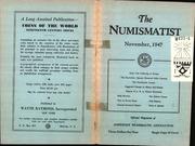 The Numismatist, November 1947