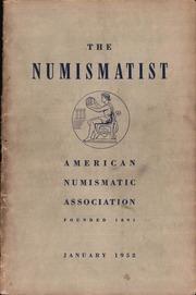 The Numismatist, January 1952