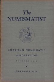 The Numismatist, November 1952