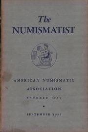The Numismatist, September 1952
