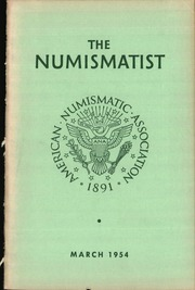 The Numismatist, March 1954