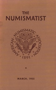 The Numismatist, March 1955