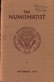 The Numismatist, September 1955