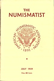 The Numismatist, July 1959