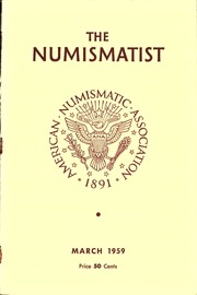 The Numismatist, March 1959
