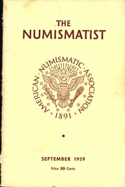 The Numismatist, September 1959
