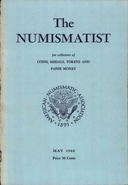 The Numismatist, May 1960