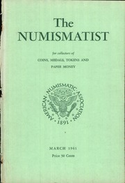The Numismatist, March 1961