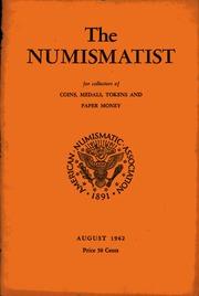 The Numismatist, August 1962