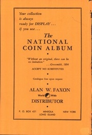 The Numismatist, March 1962