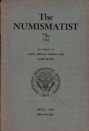 The Numismatist, April 1963