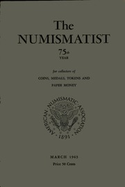 The Numismatist, March 1963