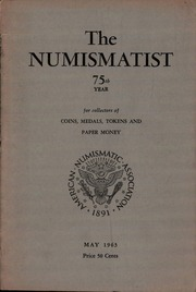 The Numismatist, May 1963