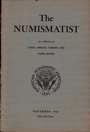 The Numismatist, November 1963