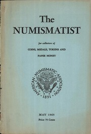 The Numismatist, May 1965