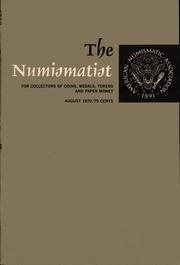 The Numismatist, August 1970