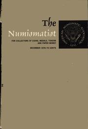 The Numismatist, December 1970