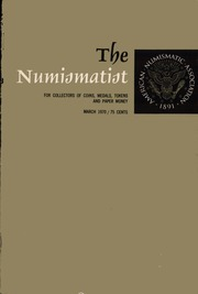 The Numismatist, March 1970