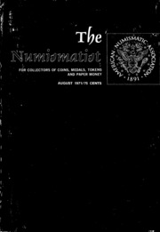 The Numismatist, August 1971