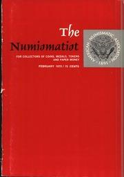 The Numismatist, February 1972