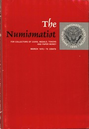 The Numismatist, March 1972