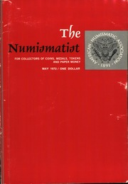 The Numismatist, May 1972