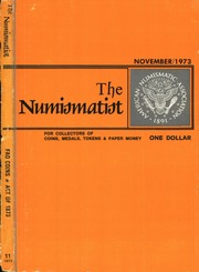 The Numismatist, November 1973