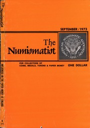 The Numismatist, September 1973