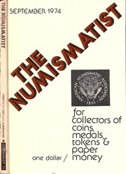 The Numismatist, September 1974