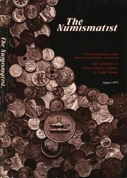 The Numismatist, August 1979