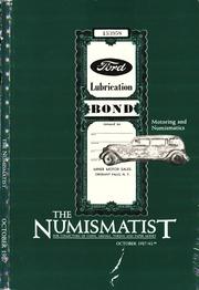 The Numismatist, October 1987