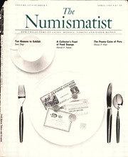 The Numismatist, April 1989