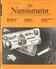 The Numismatist, August 1989