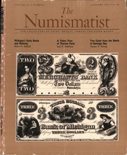 The Numismatist, January 1989